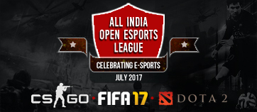 all india open esports league 2017