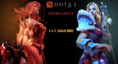 DOTA 2 1v1 Solo Mid Tournament