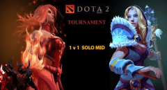 DOTA 2 1v1 Free Tournament December 2017
