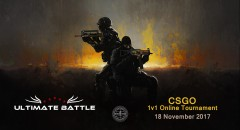 CS:GO 1v1 Online Tournament November 2017